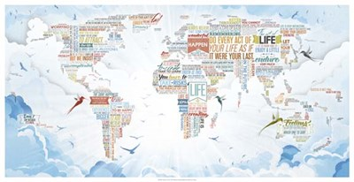 World of Life art print by Mikael B. Design for $100.00 CAD