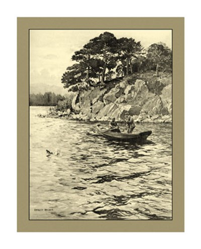 On the River I art print by Ernest Briggs for $30.00 CAD