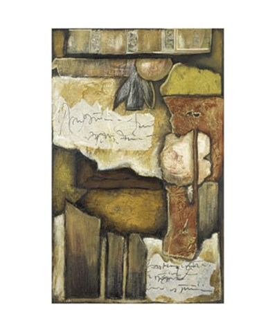 Collage on Art Paper w/Gold IV art print by Jennifer Goldberger for $187.50 CAD