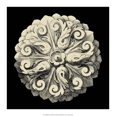 Black and Tan Rosette II art print by Vision Studio for $37.50 CAD