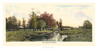 The Meadow Brook art print by C.harry Eaton for $90.00 CAD