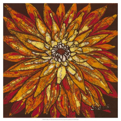 Fire Bloom IV art print by Andrea Davis for $50.00 CAD