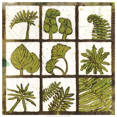 Verde 9-Patch art print by Andrea Davis for $106.25 CAD