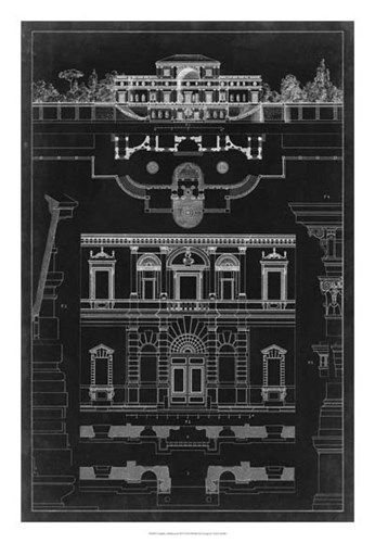Graphic Architecture III art print by Vision Studio for $56.25 CAD