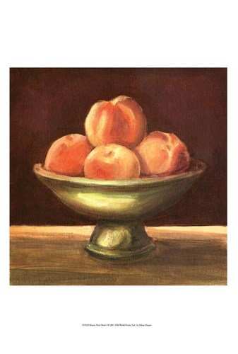 Rustic Fruit Bowl I art print by Ethan Harper for $21.25 CAD