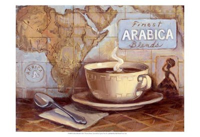 Arabica Blends art print by Theresa Kasun for $21.25 CAD