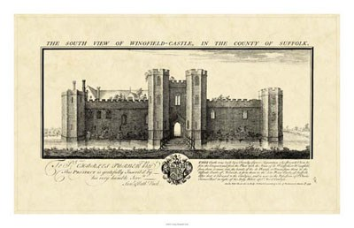 Vintage Wingfield Castle art print by Nathanial Buck for $78.75 CAD