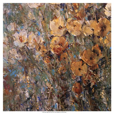Amber Poppy Field I art print by Timothy O'Toole for $27.50 CAD