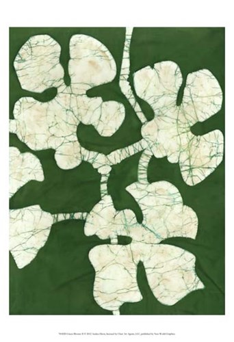 Green Blooms II art print by Andrea Davis for $21.25 CAD