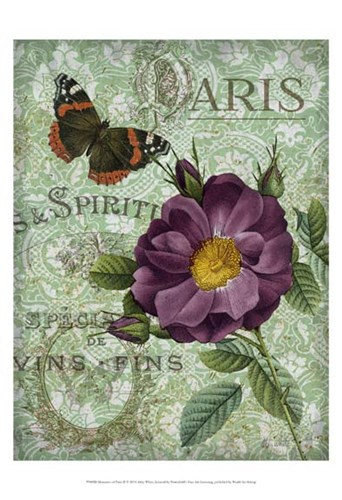 Memories of Paris II art print by Abby White for $21.25 CAD