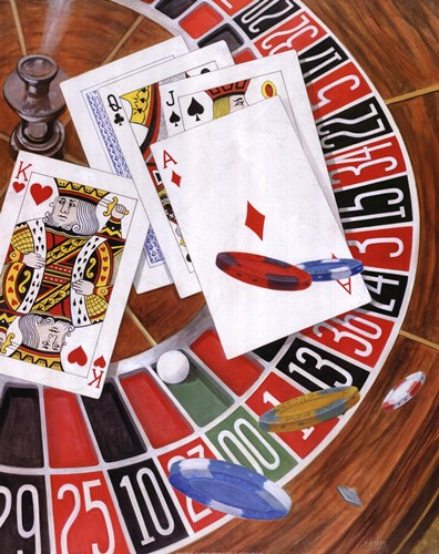 Craps art print by Ron Jenkins for $25.00 CAD