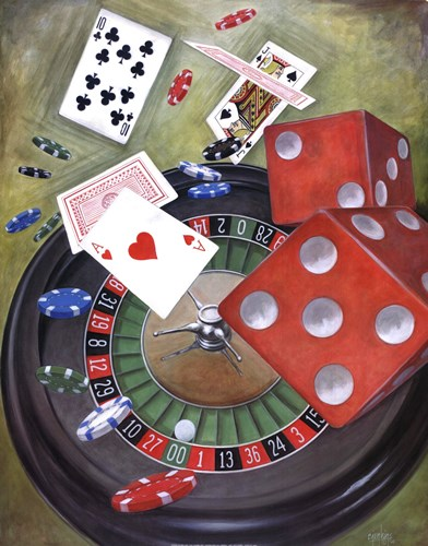Roulette art print by Ron Jenkins for $25.00 CAD
