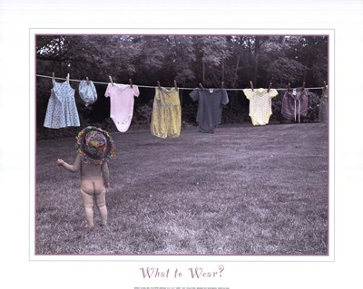 What to Wear art print by Linda Joy Solomon for $18.75 CAD