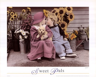 Sweet Pals art print by Unknown for $18.75 CAD