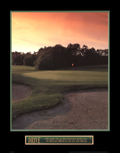 Drive - Golf art print by Unknown for $25.00 CAD