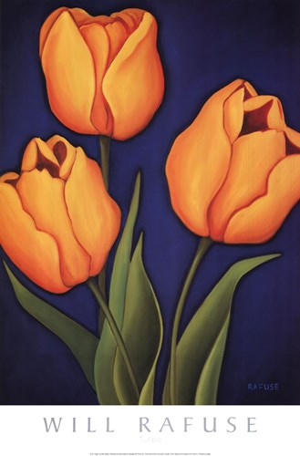Tulips art print by Will Rafuse for $37.50 CAD