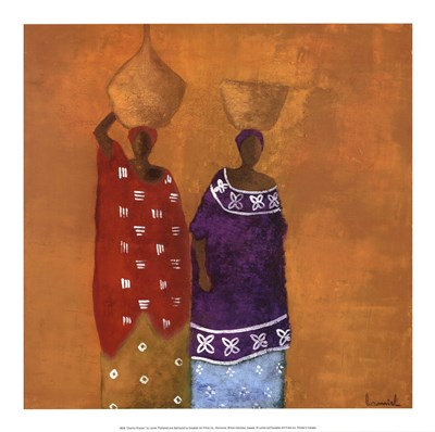 Colorful Dresses art print by Lamiel for $21.25 CAD