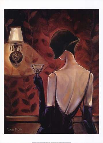 Madamoiselle art print by Trish Biddle for $37.50 CAD
