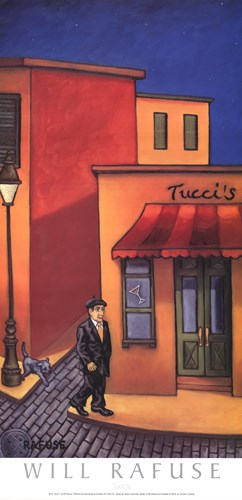 Tucci's art print by Will Rafuse for $21.25 CAD