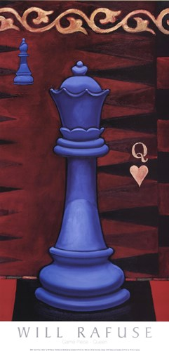 Game Piece - Queen art print by Will Rafuse for $21.25 CAD