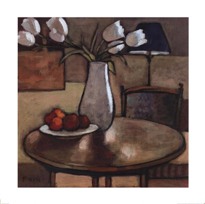 Still Life with Tulips art print by Fara Bell for $53.75 CAD