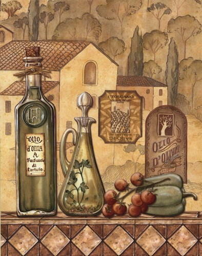 Flavors Of Tuscany III - Mini art print by Charlene Audrey for $10.00 CAD