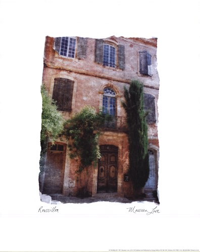Roussillon art print by Maureen Love for $21.25 CAD