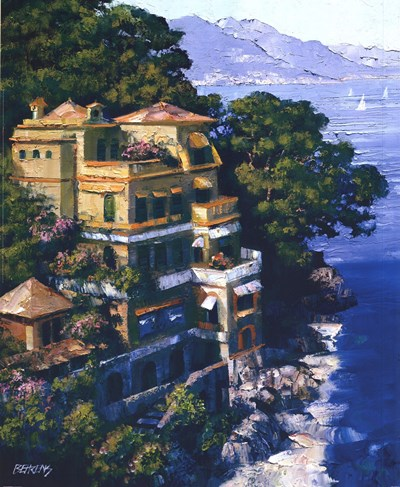 Cove At Portofino art print by Howard Behrens for $47.50 CAD