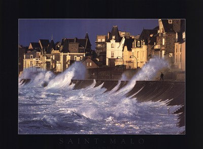 Saint Malo art print by Valery Hache for $42.50 CAD