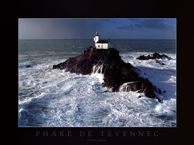 Phare de Tevennec art print by Valery Hache for $35.00 CAD