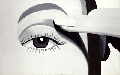 Eye Shadow art print by Peter Stampfli for $70.00 CAD