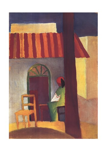 Turskish Cafe art print by August Macke for $50.00 CAD