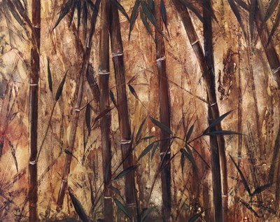 Bamboo Forest II art print by Judeen for $40.00 CAD
