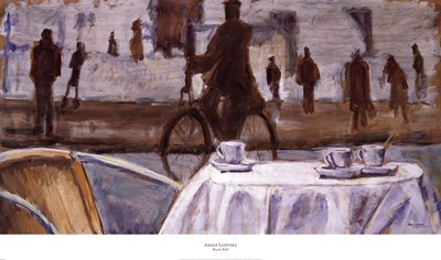 Bicycle Ride art print by Adolf Llovera for $50.00 CAD