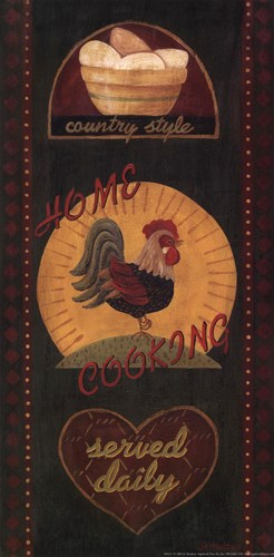 Home Cooking art print by Jo Moulton for $13.75 CAD