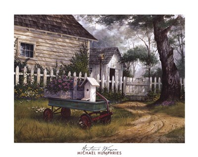 Antique Wagon art print by Michael Humphries for $33.75 CAD