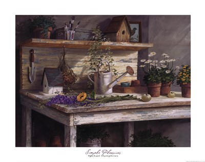 Simple Pleasures art print by Michael Humphries for $33.75 CAD