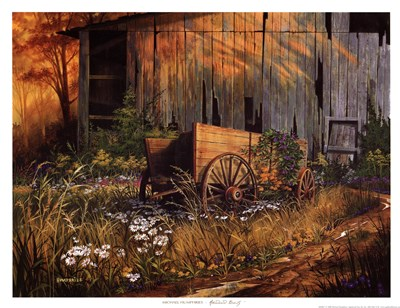 Abandoned Beauty art print by Michael Humphries for $20.00 CAD