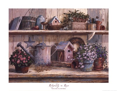 Rhapsody in Rose art print by Michael Humphries for $33.75 CAD