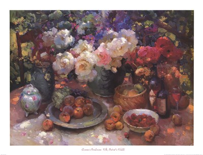 The Artist's Table art print by Ovanes Berberian for $40.00 CAD