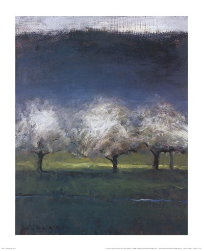 Blossoming Trees art print by Seth Winegar for $18.75 CAD