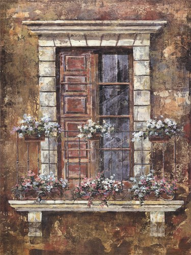 Flora Facade I art print by Unknown for $40.00 CAD