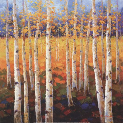 Birch Forest art print by Unknown for $40.00 CAD
