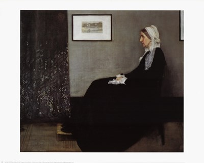 Portrait of the Artist's Mother art print by James Abbott McNeill Whistler for $17.50 CAD