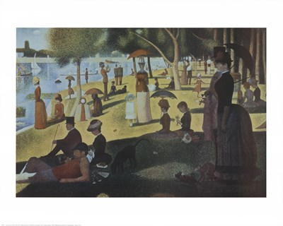 Sunday Afternoon on the Island of La Grande Jatte, c.1886 art print by Georges Seurat for $17.50 CAD