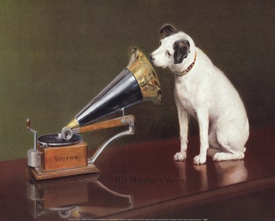 His Master's Voice art print by N. Bettman for $17.50 CAD