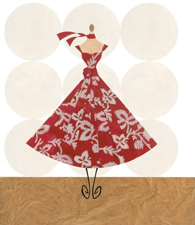 The Allure Of Couture art print by Blasutta for $15.00 CAD