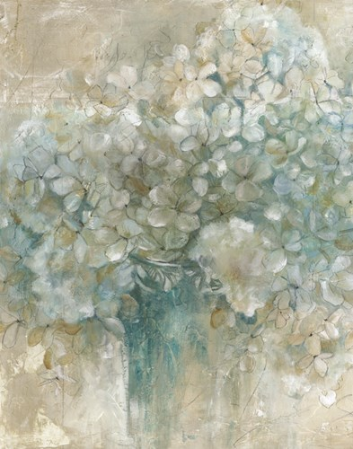 Hydrangeas art print by Unknown for $22.50 CAD