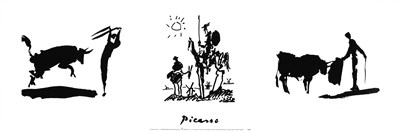 Picasso Trilogy art print by Pablo Picasso for $31.25 CAD