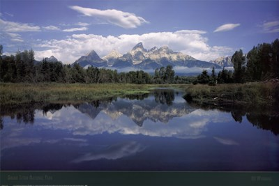 Grand Teton National Park art print by Unknown for $43.75 CAD